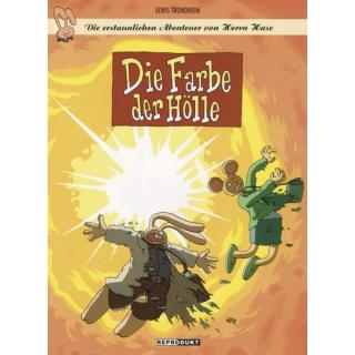 Die erstaunlichen Abenteuer von Herrn Hase 8 - Die Farbe der Hölle