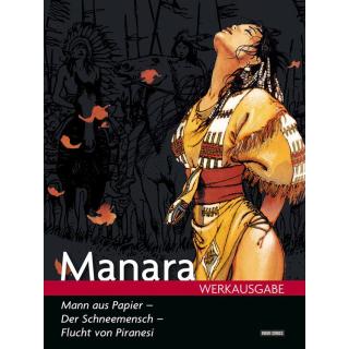 Manara Werkausgabe 16 - Mann aus Papier u.a.