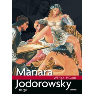 Manara Werkausgabe 15 - Borgia