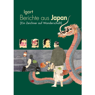 Berichte aus Japan 2 - Ein Zeichner auf Wanderschaft