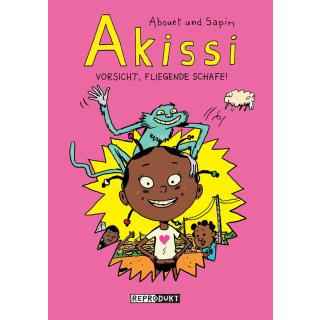 Akissi - Vorsicht, fliegende Schafe!