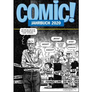 COMIC! Jahrbuch 2020 Variantcover