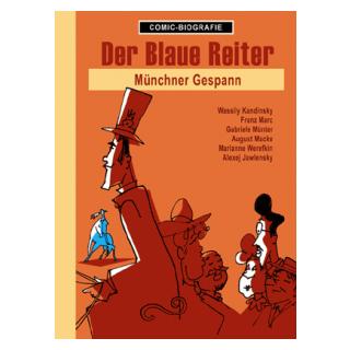 Comic Biographie 14 - Der blaue Reiter - Münchner Gespann