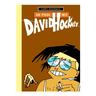 Comic Biographie 21 - Am Pool mit David Hockney